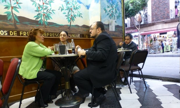 The city is noisy and hectic but cafes such as Cafe Rio provide sanctuary