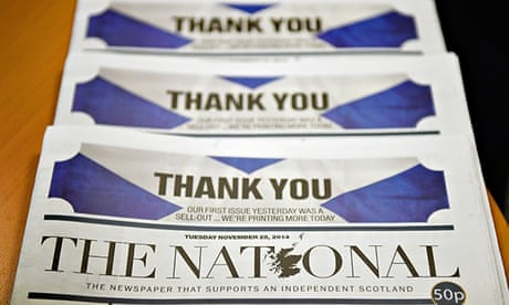 Scotland\'s National newspaper is here to stay...