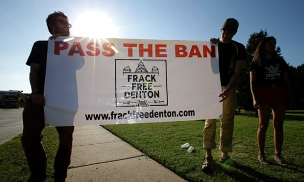 Denton bans fracking