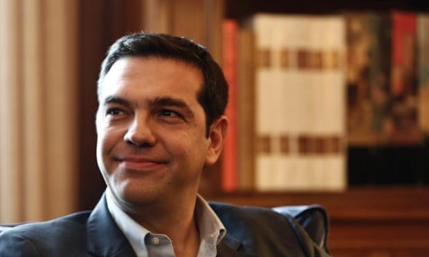 Alexis Tsipras, leader of Greece's Syriza party. Photo: Reuters/Yorgos Karahalis