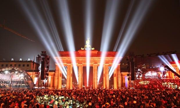Berlin wall commemoration