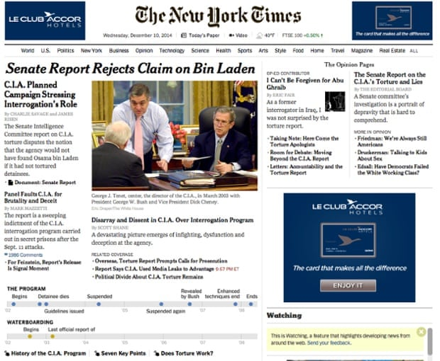 New York Times - Web Front