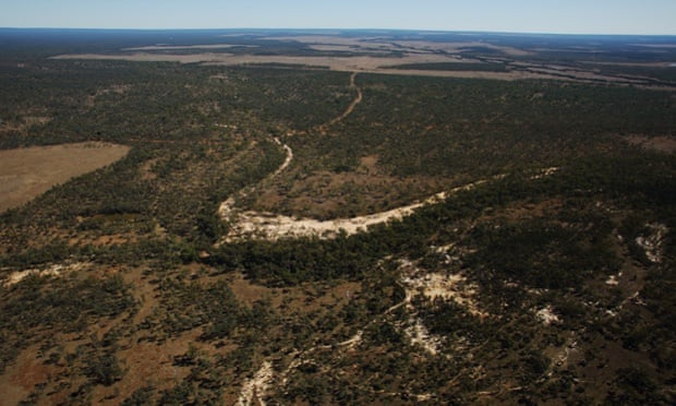 The Galilee basin in central Queensland: 'it would produce 6% of the carbon necessary to take the planet past a 2C temperature rise, the red line set by the world's governments'.
