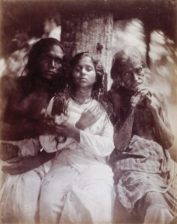 A group of Kalutara peasants, 1878.