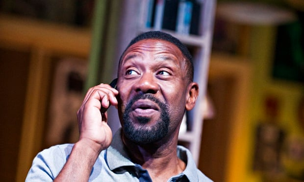 Lenny Henry as Adam in Rudy's Rare Records by Danny Robins at Birmingham Rep earlier this year. Phot