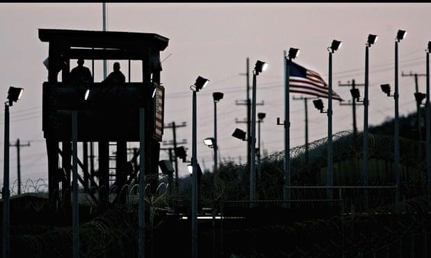 Guantanamo Bay detention camp in Cuba.