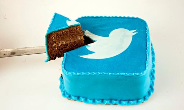 Twitter cake