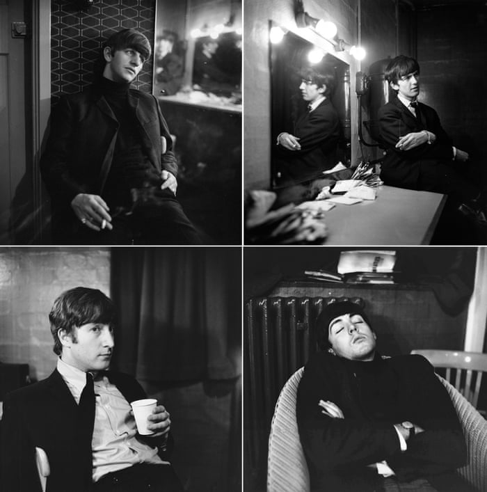 The Beatles backstage in East Ham, London, 1963 When someone asked Jane to leave at the end of the photo shoot, Ringo Starr insisted she be allowed to stay