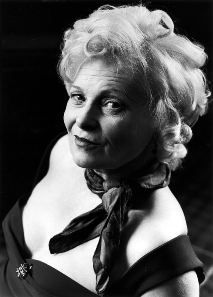 Dame Vivienne Westwood, 1999. This was a picture commissioned by the National Portrait Gallery