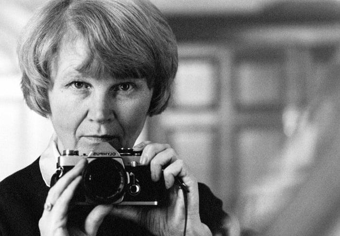 Jane Bown self-portrait, circa 1986