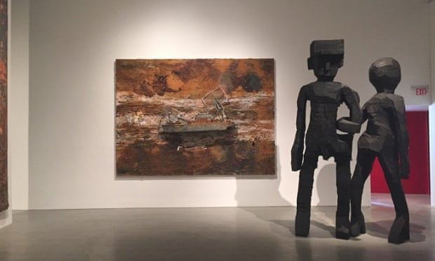 An Anselm Kiefer and a Georg Baselitz