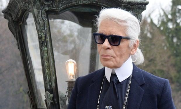 Karl Lagerfeld in Salzburg.