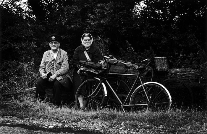 Postman and postwoman having a picnic, 1966 This was one of Jane's favourite photos