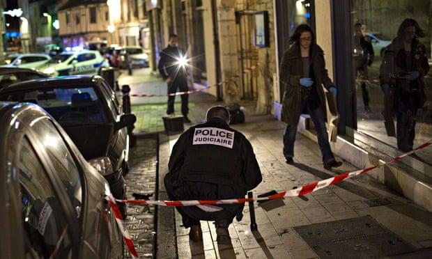 Police in Dijon