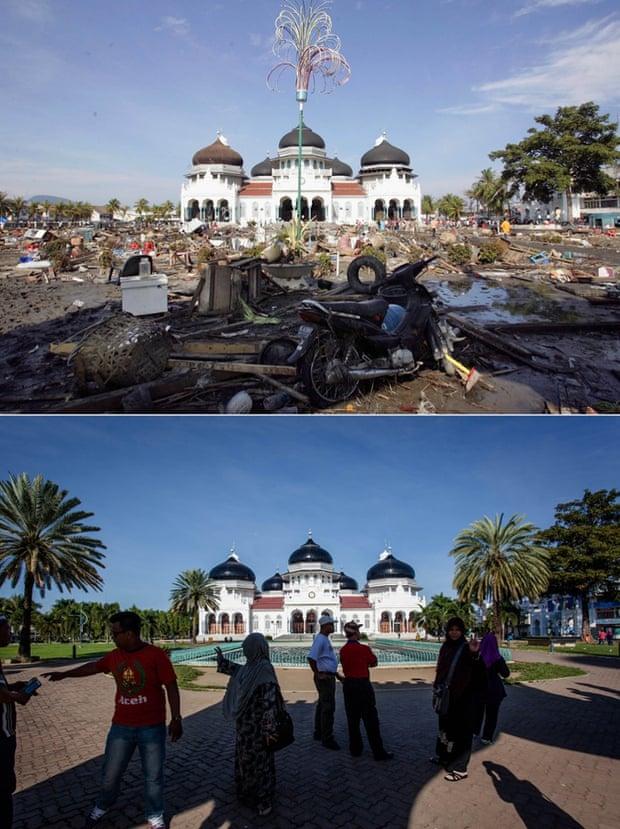 Baiturrahman Grand Mosque composite