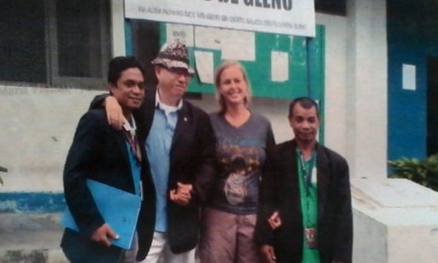 Oregon woman released from east timor