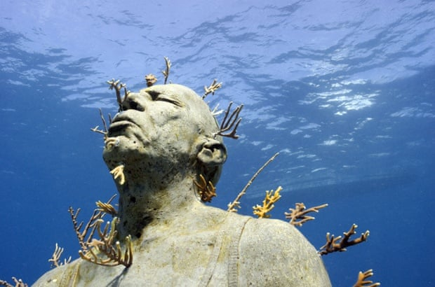 Jason deCaires Taylor's Isla Mujeres Underwater Art Museum.