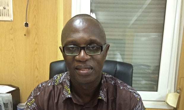 Palo Conteh, the minister of defence