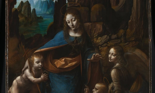 Virgin of the Rocks, National Gallery, London.