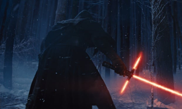 "from the upcoming film, ""Star Wars: The Force Awakens,"" expected in theaters on Dec. 18, 2015"