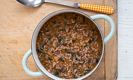 Red Wine Mushroom Risotto Recipes — Dishmaps