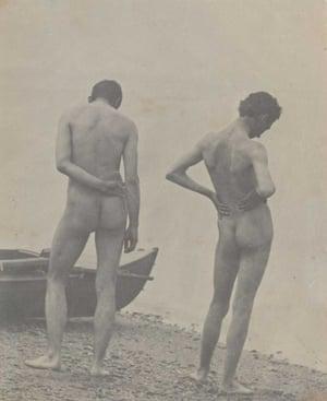 Thomas Eakins - backs in art