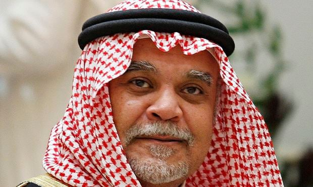 Prince Bandar bin Sultan, who has been replaced as Saudi intelligence chief