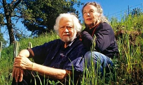 Shulgin with wife, 2002