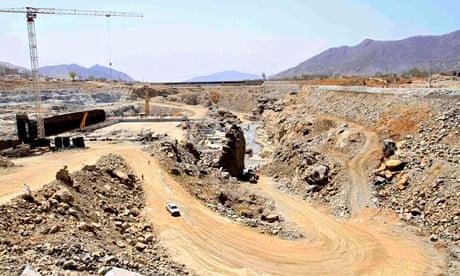 Ethiopia GERD dam