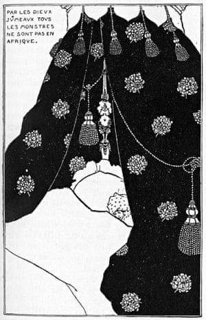 Self-Portrait in Bed Aubrey Beardsley