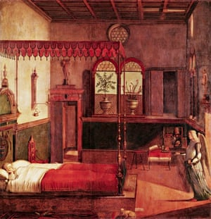 Dream of St Ursula by Vittore Carpaccio