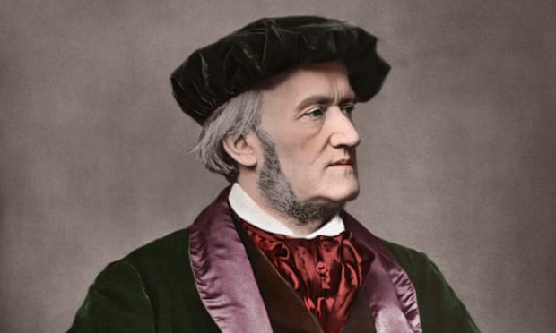 Richard Wagner (1813-1883) German composer. Portrait photo, 1871.
