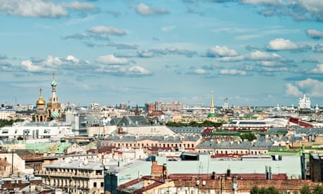 St petersburg from the top of saint isaac s cathedral photograph