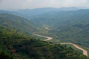 Ngororo River, Rwanda.