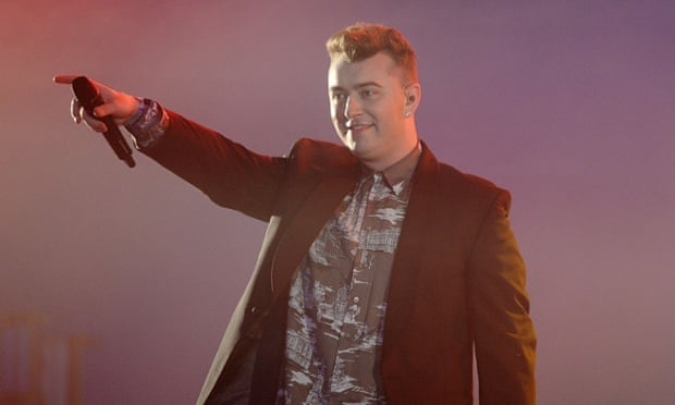Sam Smith reaching out to his yet to be developed urban fan base.