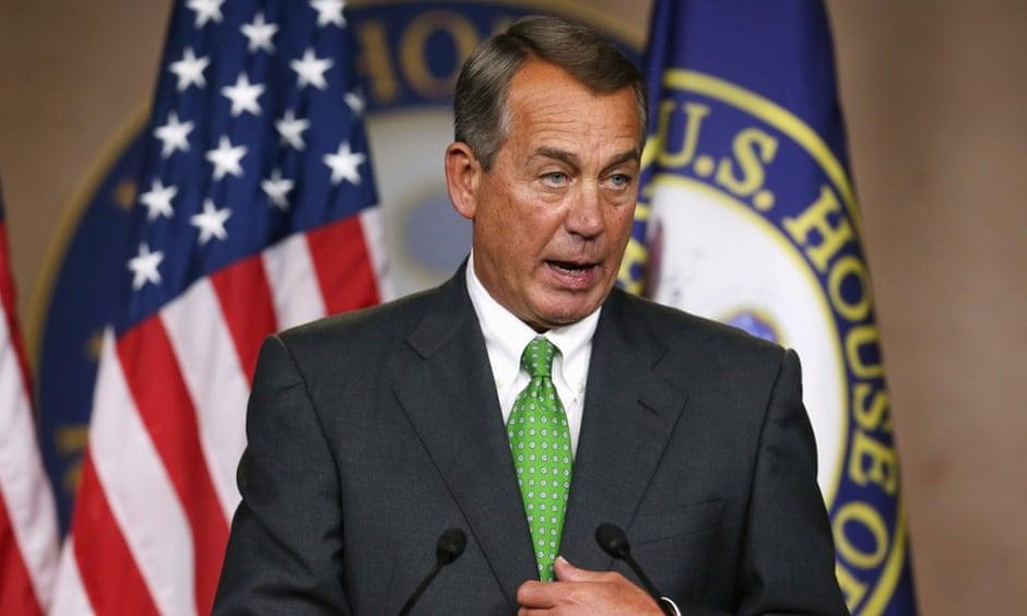 John Boehner in Washington.