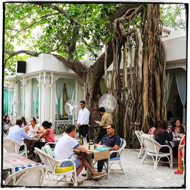 Olive Restaurant, near Qutab Minar.