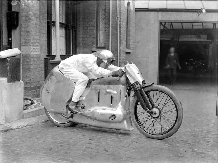 An experimental motorcycle