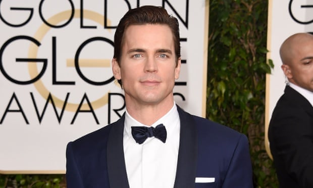 Matt Bomer at the Golden Globes.