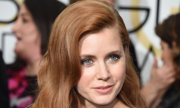 AAmy Adams at the Golden Glonbes.