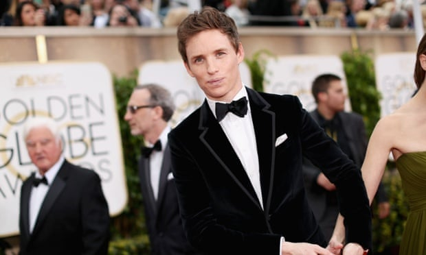 Eddie Redmayne, winner for The Theory of Everything.