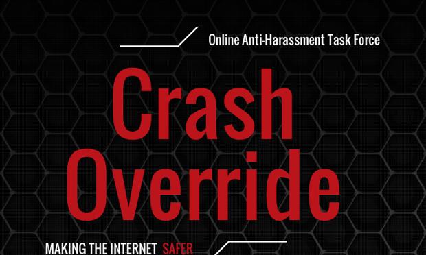 Crash Override's logo.