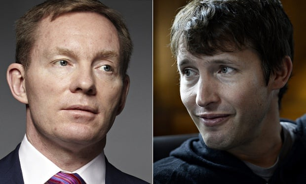Chris Bryant and James Blunt