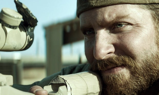 Bradley Cooper in American Sniper.