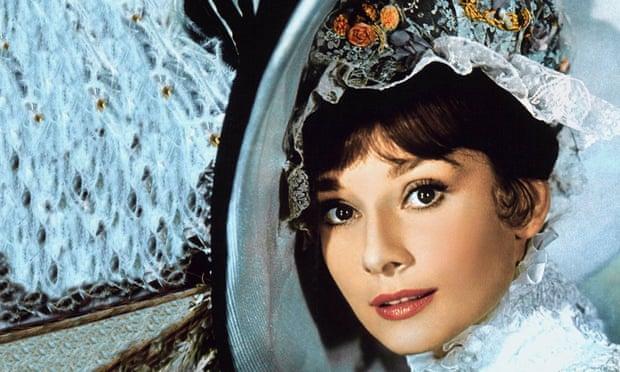 Audrey Hepburn as Eliza Doolittle in My Fair Lady