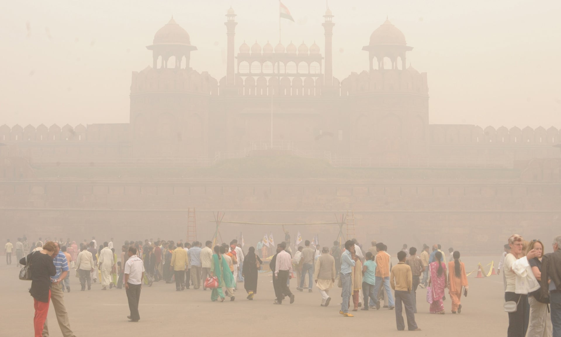 Pollution is bad in India.