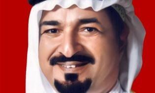 Emir Humaid bin Rashid Al Nuaimi.