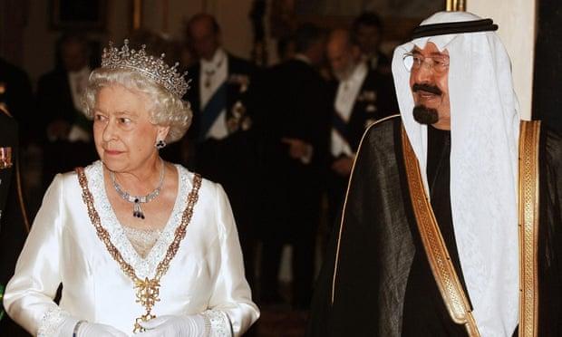 The Queen with King Abdullah of Saudi Arabia
