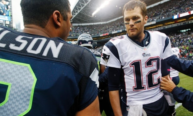 Tom Brady and Russell Wilson