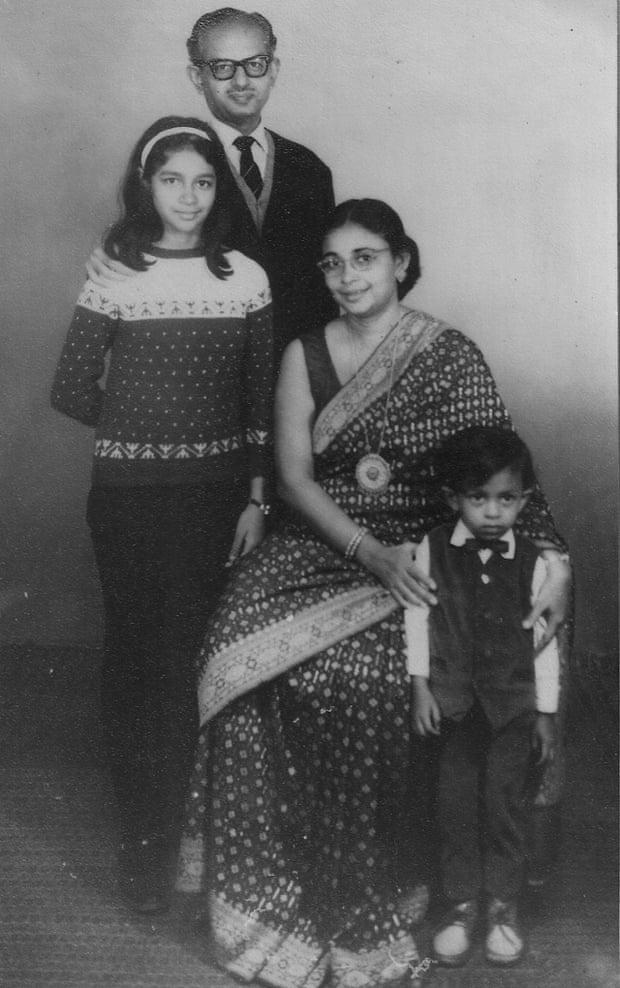 Sandip Roy family group